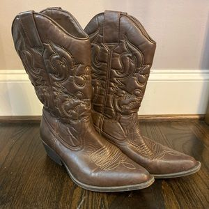 Mossimo Supply Co. Cowboy Boots
